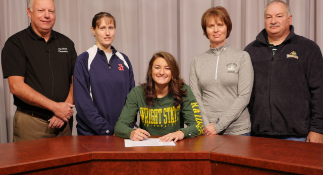 ABBY BARCUS SIGNS WITH WRIGHT STATE!!