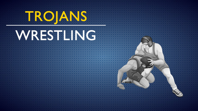 Trojan Wrestlers in Conference Action