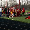 Varsity Track vs. Camden and Will Carleton
