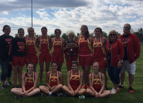 Lady Rangers Place 2nd at Purdy Invite