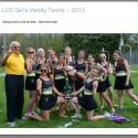Girls Varsity Tennis SMITL League Co-Champions 2013