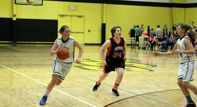 MS Girls Basketball Splits with Stockbridge