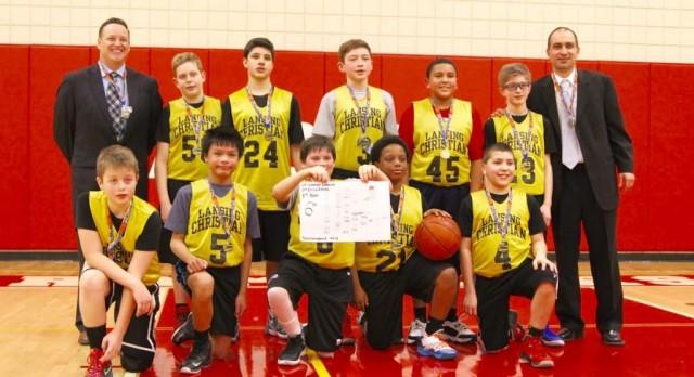 6th Grade Boys Finish Strong