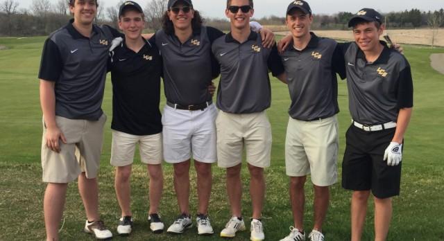 Varsity Golf Cards Best Team Score of the Season