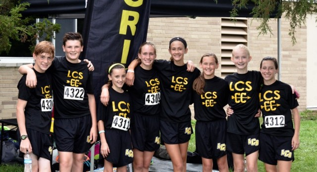 MS Cross Country start year strong!