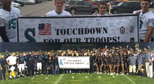 Operation Care Package/ Military Appreciation Football Game