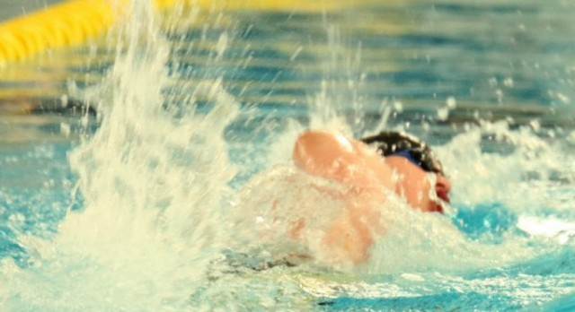 Boys Swimming & Diving Section Meet at St. Catherine's College