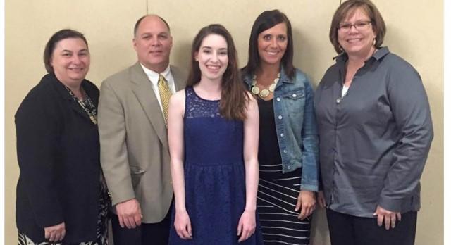 Payton West receives Athena Award