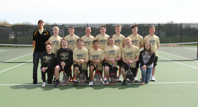 Fridley Boys Tennis Team is Section 5A Champion