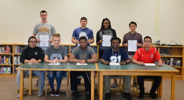 Fridley Athletes Committed to the Next Level