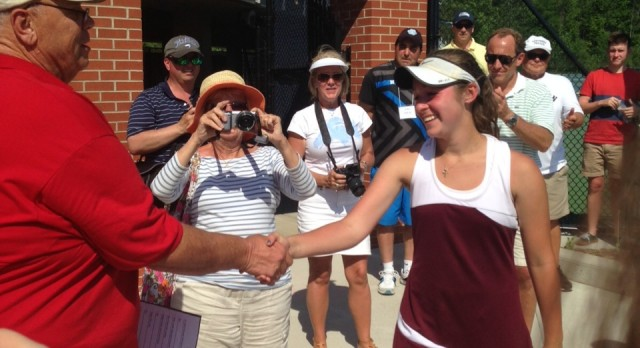 Struble Captures 3rd State Title, Tennis Finishes 5th