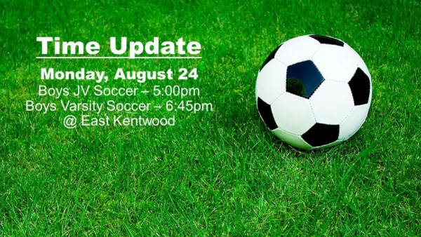 OHS Soccer Time Update
