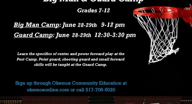 2016 Boys Basketball Big Man & Guard Camp