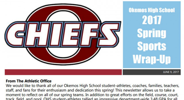 Another great spring in the books for OHS student-athletes!