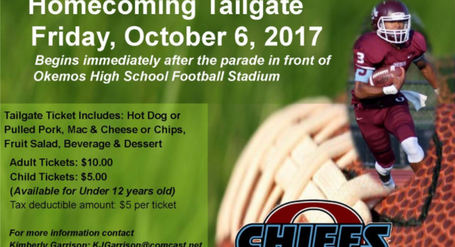 Homecoming Tailgate – Oct 6