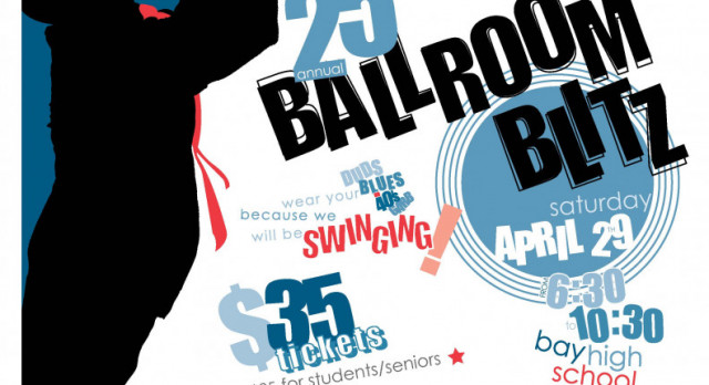 Bay Music Boosters 25th Annual Ballroom Blitz – Saturday, April 29th