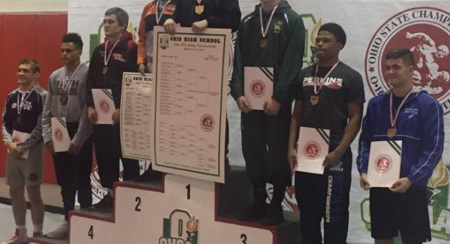 Josh Barr places 7th at State Wrestling Tournament