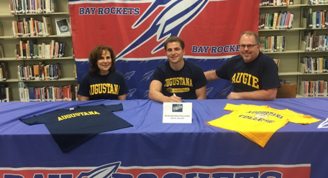 Jack Jelen to Continue Basketball Career at Augustana College