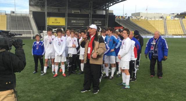 Boys Soccer Takes State Runner-Up Crown
