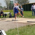 Girls Track Shot and Disc