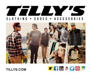 Tillys300x250 pixels ad
