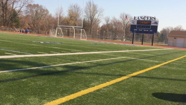 JV soccer field