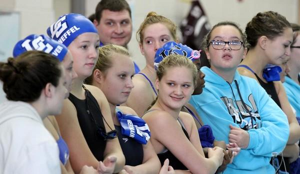 Girls Swim takes 3rd Place