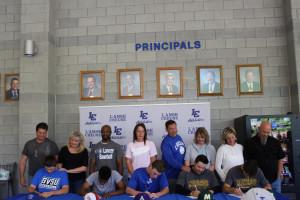 Baseball Signing 3