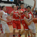 Red Devils Win Over Stebbins- Military Night