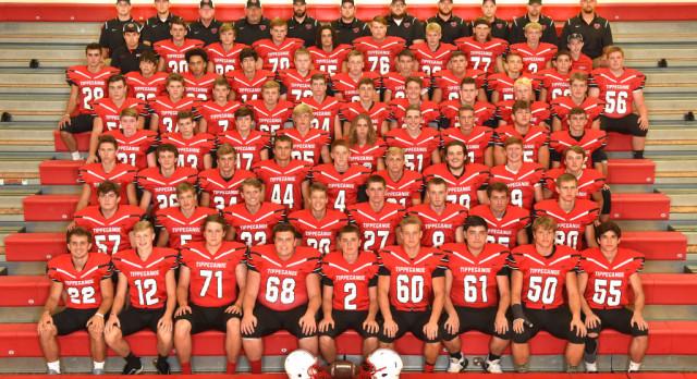 Tippecanoe High School Varsity Football beat Greenville Senior High School 47-0 On Homecoming