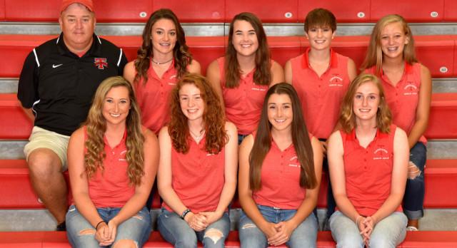 Tippecanoe High School Girls Varsity Golf beat Troy High School 193-215