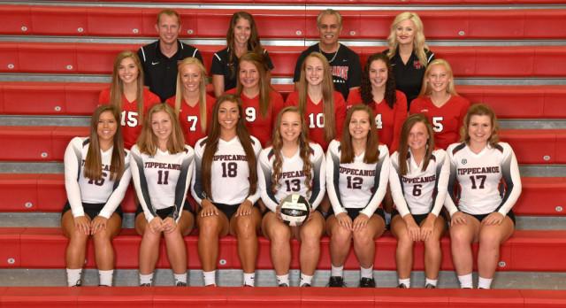 Tippecanoe High School Girls Varsity Volleyball beat Stebbins High School 3-0