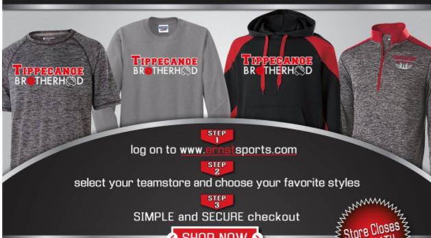 Get your Tippecanoe Brotherhood Gear!