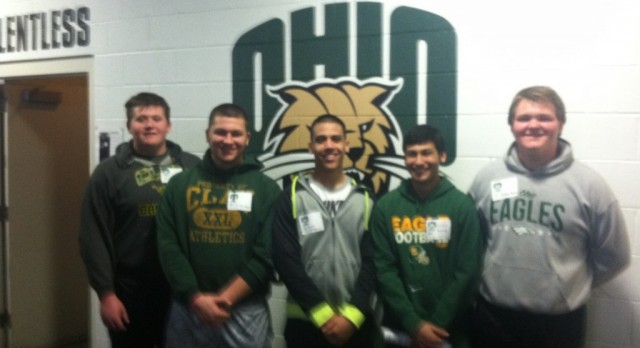 Five Football Players get invited to Ohio University Junior Day