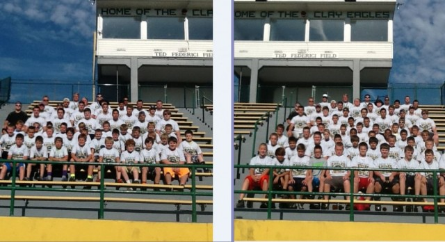 Clay Football Youth Camp Complete