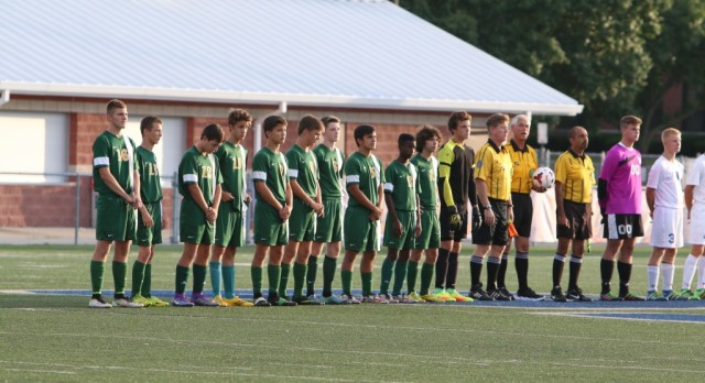 Boys Soccer at Springfield