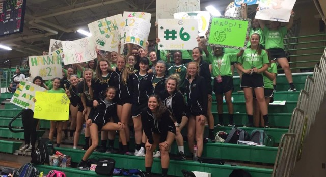Volleyball Celebrates Senior Night, Junior High Night, and a Win Over Fremont Ross