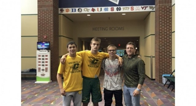Clay and Fasset Wrestlers Compete at Super 32 in Greensboro N.C.