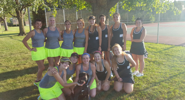 Eagle Tennis Sweep!