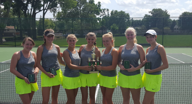 Eagle Tennis places 2nd in Invitational