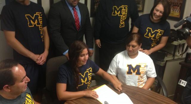 Laura Jimenez is headed to Michigan