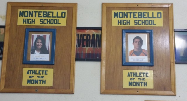 Congrats to September Athletes of the Month