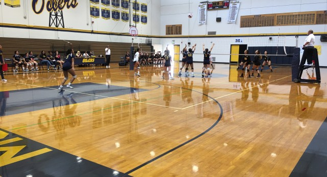 Montebello High School Girls Varsity Volleyball falls to California High School 3-0