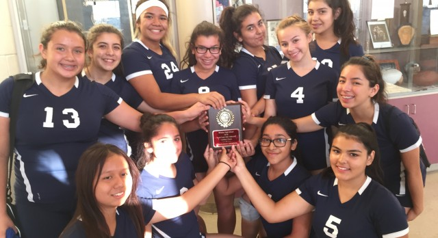 Frosh Soph Volleyball Consolation Champs