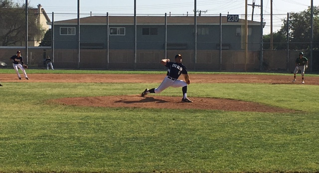 Noah Fuerte pitches complete game in League Opener