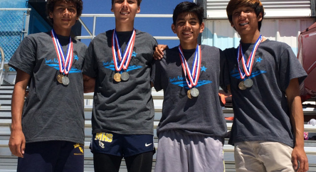 Relay teams have big day at San Gorgonio HS