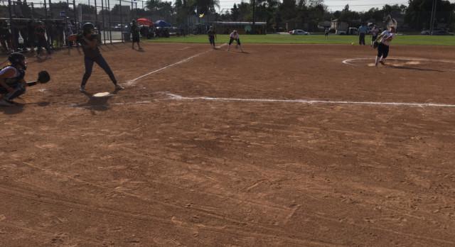 Softball defeats #3 Ranked Schurr 5-1