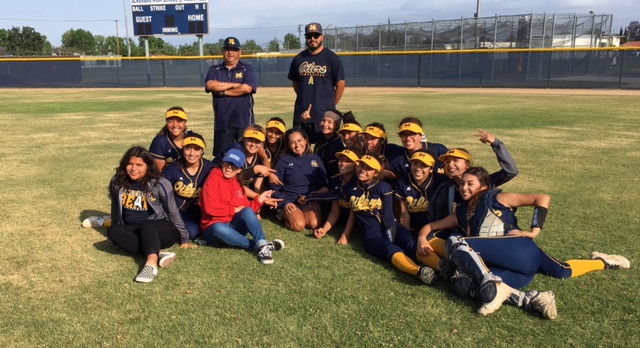 Softball Captures League Title