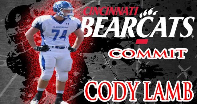 Cody Lamb Verbally Commits To Play Football At UC