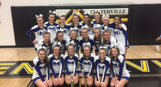 Competitive Cheer Squad – Grand Champions at Centerville Comp